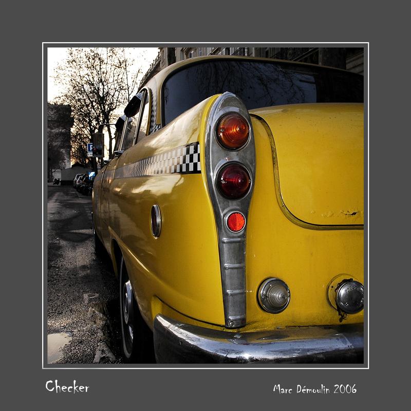 CHECKER Motors Corp Paris - France