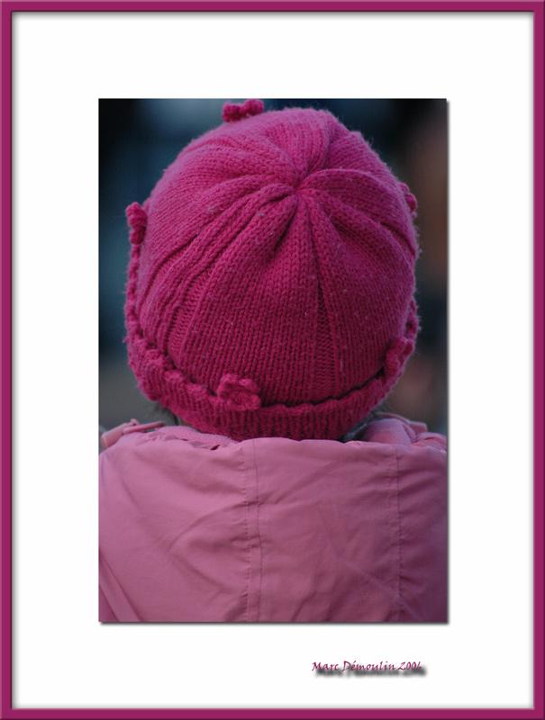 Pink bonnet, Vincennes