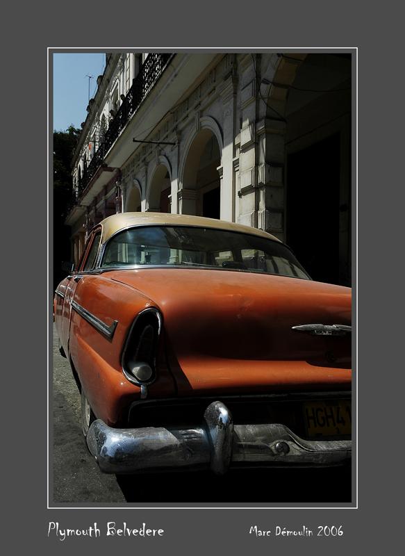 PLYMOUTH Belvedere La Habana - Cuba