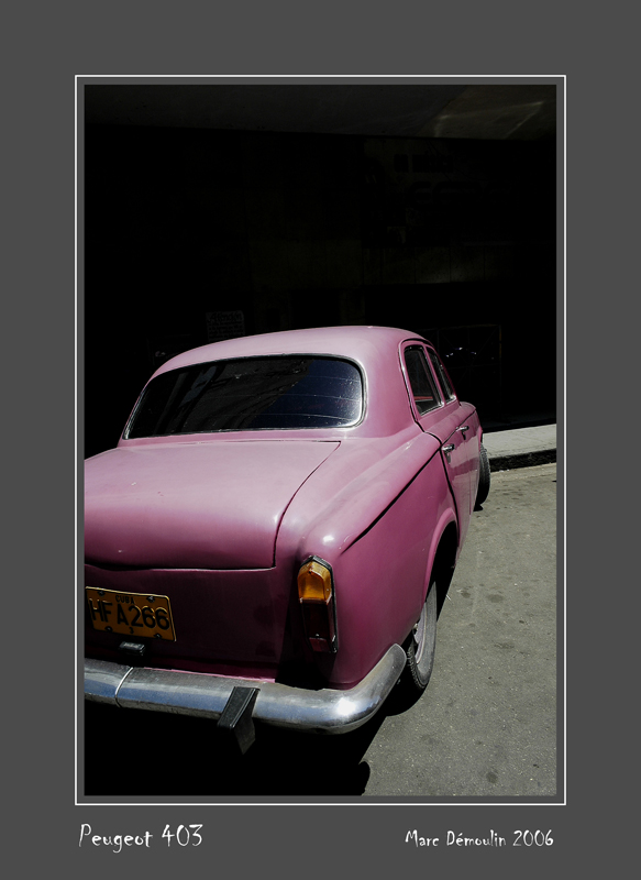 PEUGEOT 403 La Habana - Cuba