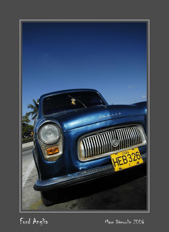 FORD Anglia La Habana - Cuba