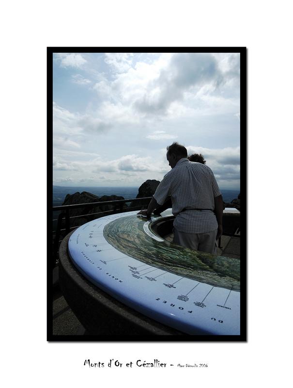 Top of Puy de Dome