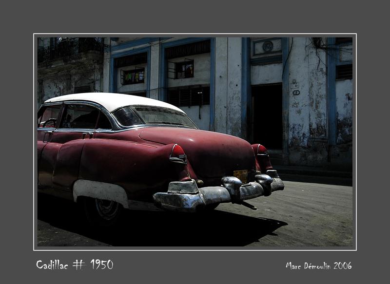 CADILLAC #1950 La Habana - Cuba