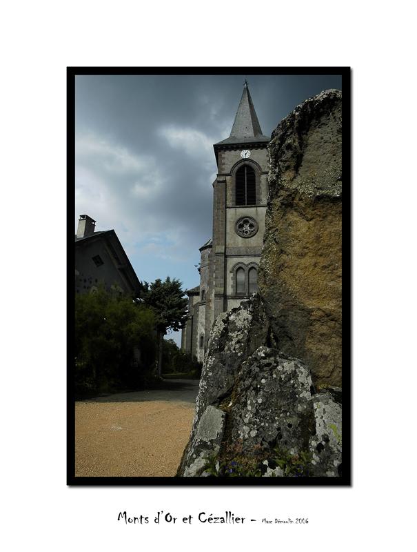Murol, church