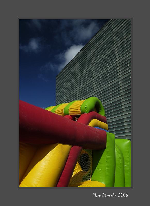 Inflatable adventure playground 1