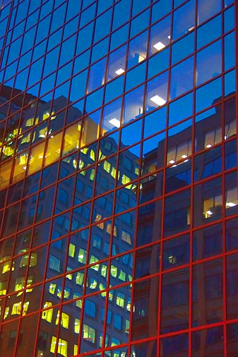 Skyscraper Reflections 09859