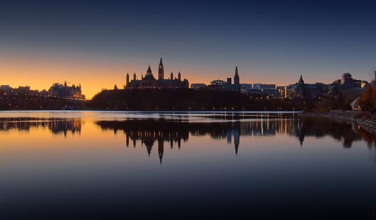 Ottawa dawn skyline 20091101 photo gordon w photos at - Architekt one world trade center ...