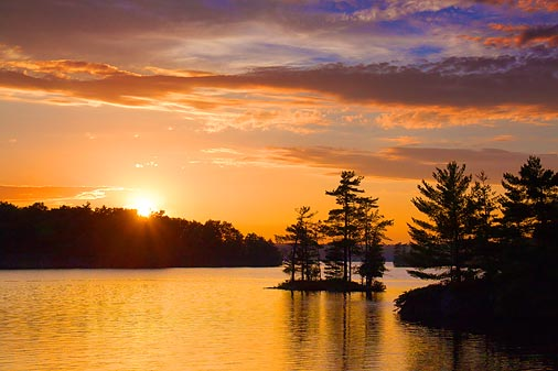 Frontenac Axis Sunset 20100619