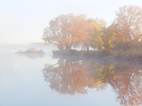 Foggy Rideau Canal 22490