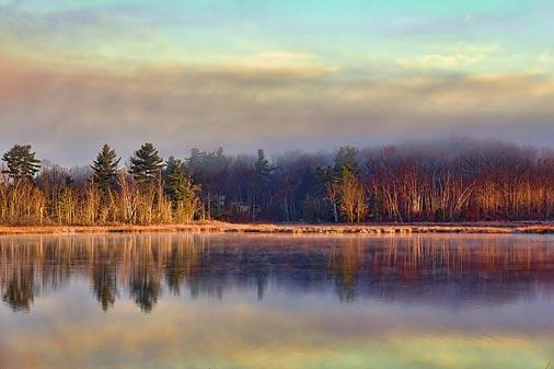 Otter Lake At Sunrise 01449