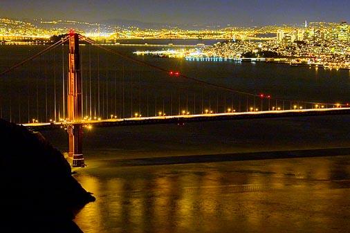 Golden Gate at Night 20051210