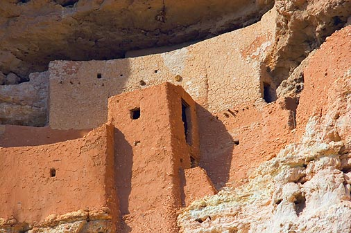 Montezuma Castle Closeup 29091