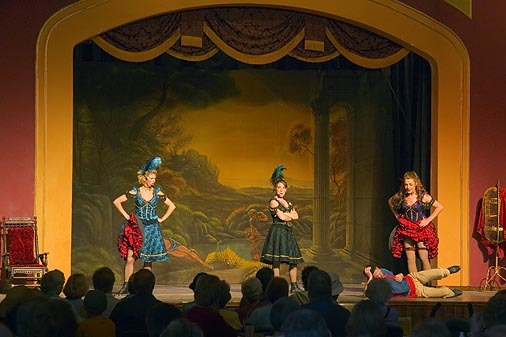 Old Tucson Can-Can Dancers 30391
