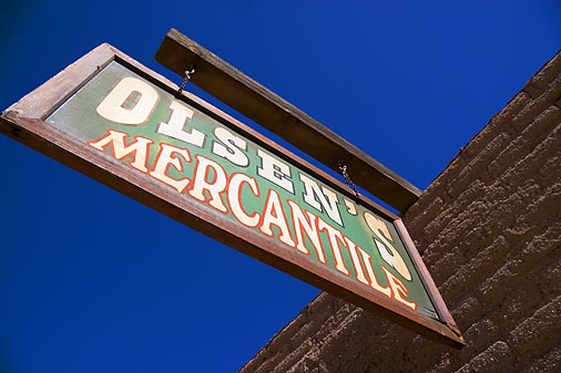 Old Tucson Sign 30404