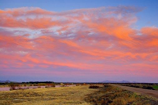 Sunset Along The Rio Grande