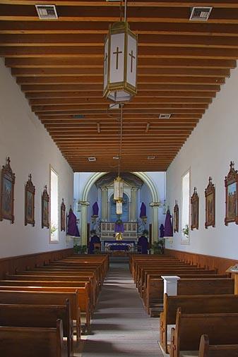 Ysleta Mission Interior