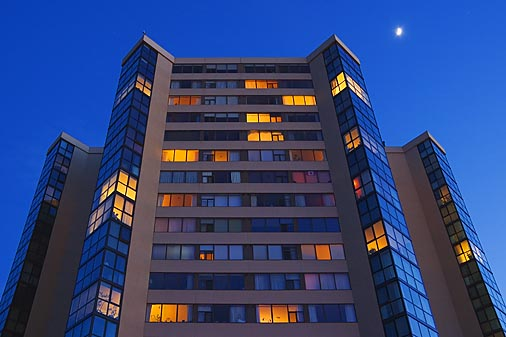 Hotel At Twilight