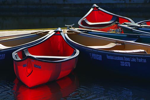 Dows Lake Canoes 20060508