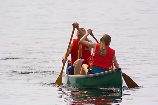 Unique Rowing Style