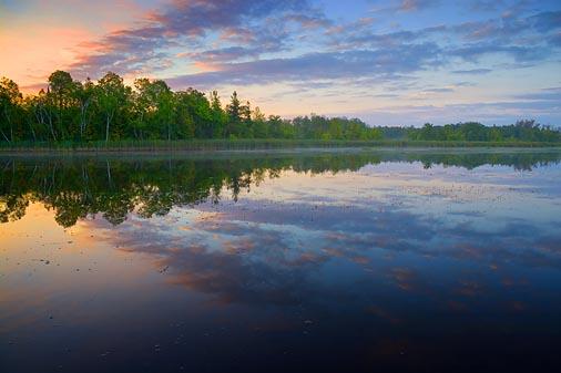Scugog River At Sunrise