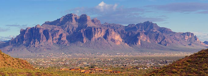 Superstition Mountain Panorama 79088-90