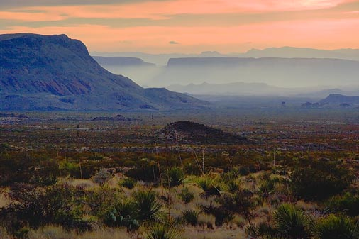 Big Bend Sunset 6561
