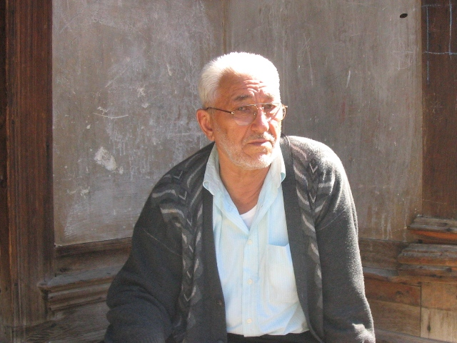 Ziya amca of Sehitlik sokak, Kastamonu