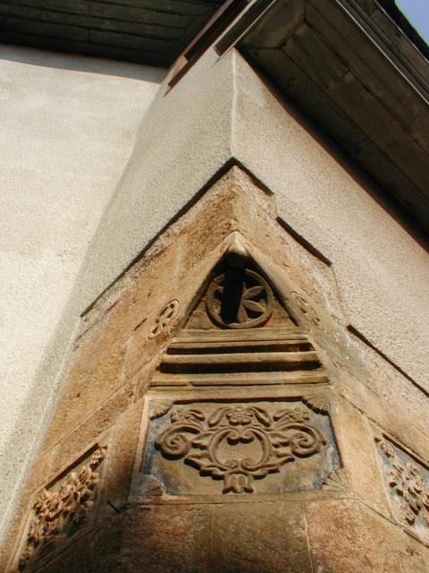 Detail on a vernacular house