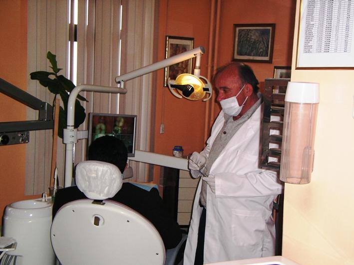 Dr. Halit Esen at work