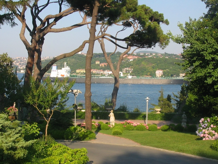 Bosphorus from Sabaci Museum