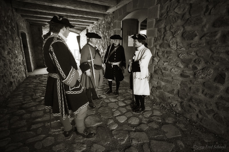 Discussing the Weather in 1745
