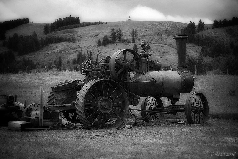 Molson Ghost Tractor