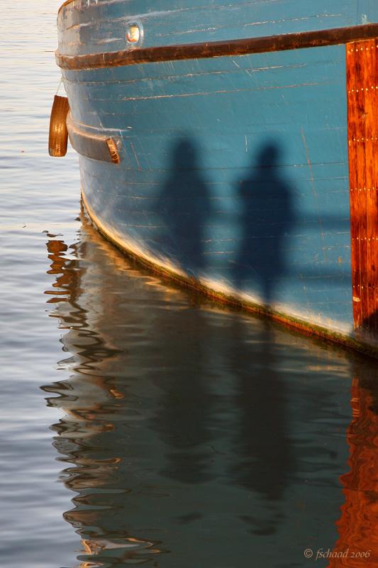 Barbara & Fred at Steveston Harbour