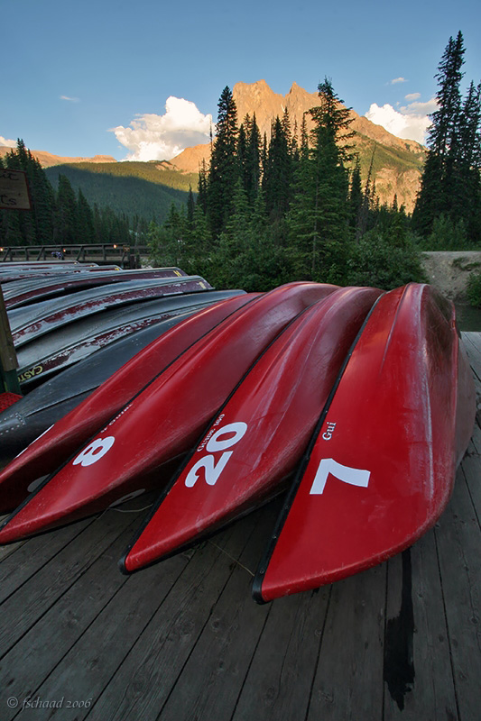 Emerald Lake Canoe Rentals