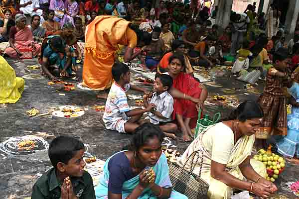 Devotees at Madapuram Kaliamman temple near Madurai. http://www.blurb.com/books/3782738