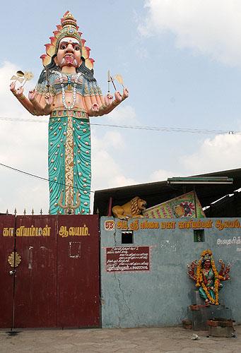 Kaliamman temple near Chidambaram. http://www.blurb.com/books/3782738