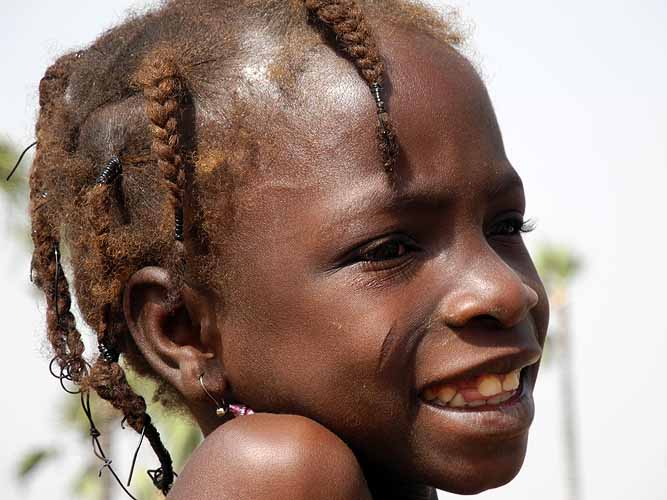 Girl in Burkina Faso