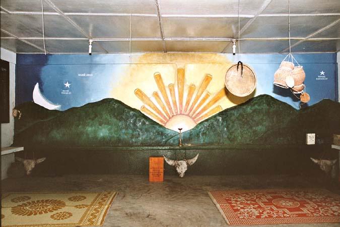 Donyo Polo temple in Hari