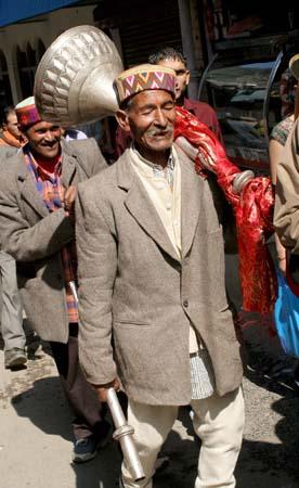 Kullu Dussehra, after the Procession