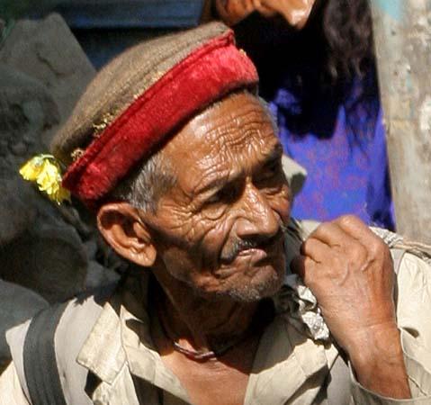 Kullu, old pilgrim