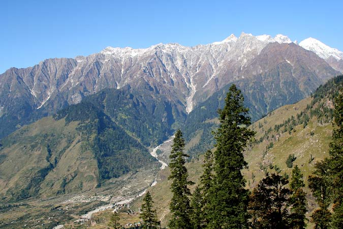 From Manali to Rothang Pass