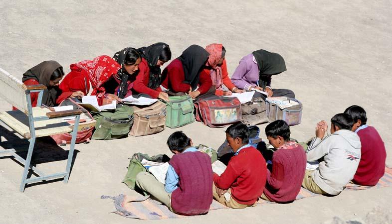 School in Kibber Spiti