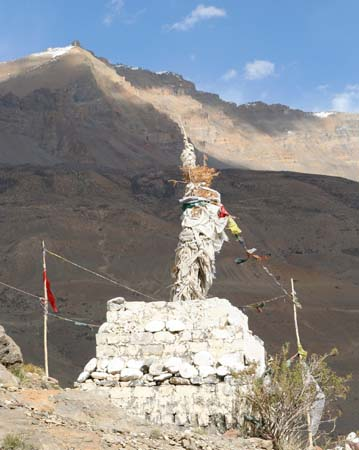 Latho at the entrance of Pin Valley Spiti