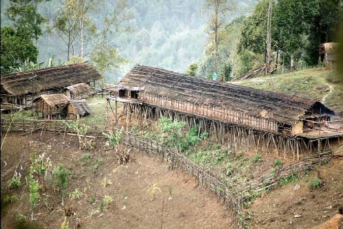 Nyishi longhouse