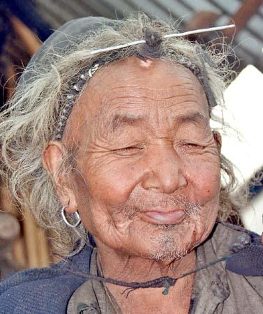 Apatani man in Dutta