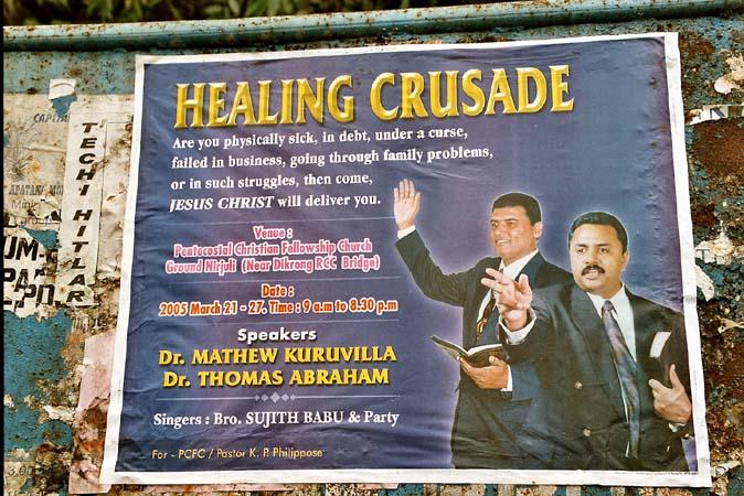Missionaries crusade in Northeast India