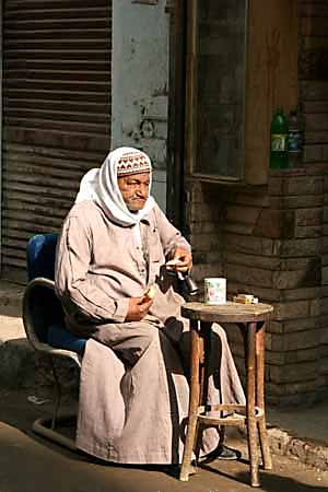 In the old town of Cairo
