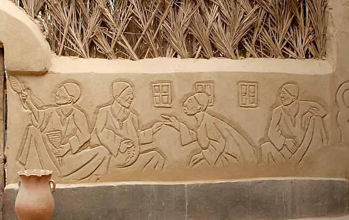 In the museum in Farafra Oasis