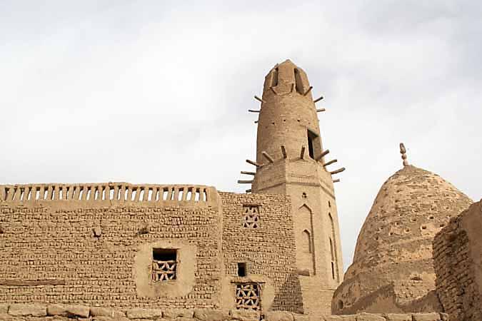 The old town Al Qasr near Dakhla Oasis