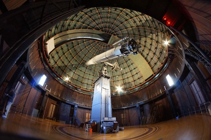 Once the worlds largest Refracting Telescope